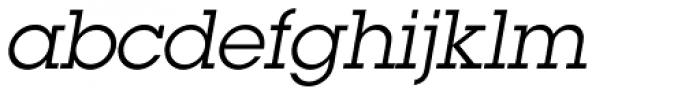 ITC Lubalin Graph Book Oblique Font LOWERCASE