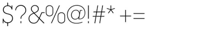 ITC Lubalin Graph Std Extr Light Font OTHER CHARS