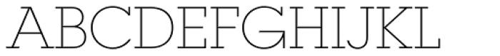 ITC Lubalin Graph Std Extr Light Font UPPERCASE