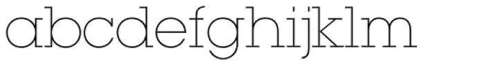 ITC Lubalin Graph Std Extr Light Font LOWERCASE