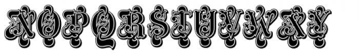 ITC Masquerade Std Regular Font UPPERCASE