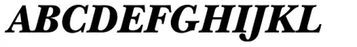 ITC New Baskerville Black Italic Font UPPERCASE