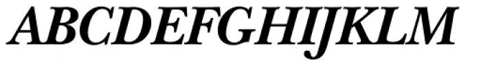 ITC New Baskerville Bold Italic Font UPPERCASE