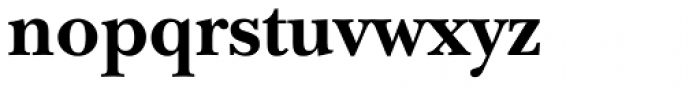 ITC New Baskerville Bold Font LOWERCASE