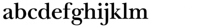 ITC New Baskerville SemiBold Font LOWERCASE