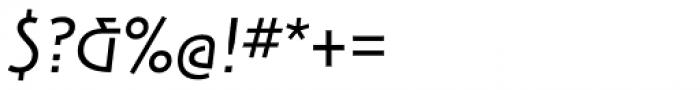ITC New Rennie Mackintosh Italic Font OTHER CHARS