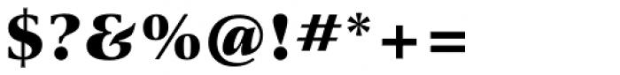 ITC New Veljovic Pro Black Font OTHER CHARS