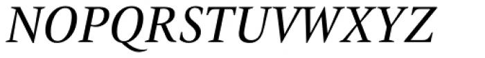 ITC New Veljovic Pro Cond It Font UPPERCASE