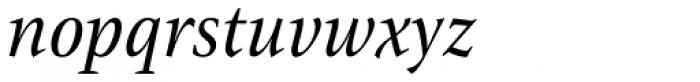 ITC New Veljovic Pro Cond It Font LOWERCASE