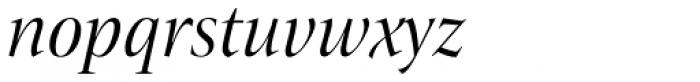 ITC New Veljovic Pro Disp Bk It Font LOWERCASE