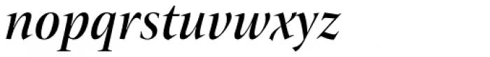 ITC New Veljovic Pro Disp Md It Font LOWERCASE