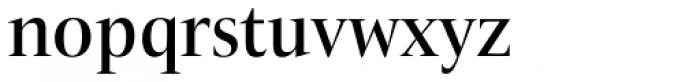 ITC New Veljovic Pro Disp Md Font LOWERCASE
