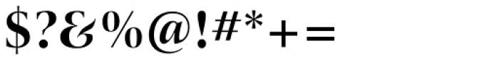 ITC New Veljovic Pro Display Bd Font OTHER CHARS