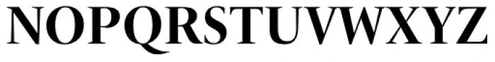 ITC New Veljovic Pro Display Bd Font UPPERCASE