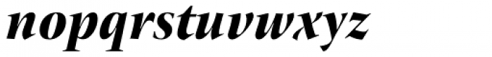 ITC New Veljovic Pro Ds Blk It Font LOWERCASE