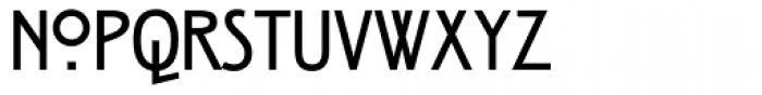 ITC Rennie Mackintosh Bold Font UPPERCASE