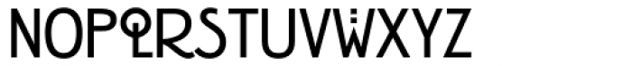 ITC Rennie Mackintosh Bold Font LOWERCASE