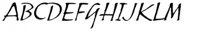 ITC Skylark Font UPPERCASE