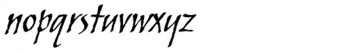 ITC Skylark Font LOWERCASE