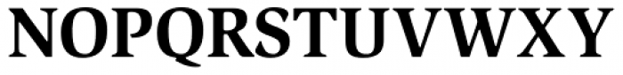 ITC Slimbach Bold Font UPPERCASE