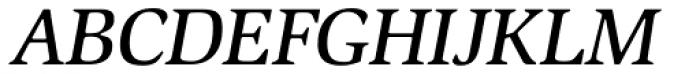 ITC Slimbach Medium Italic Font UPPERCASE