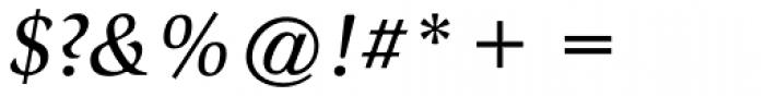 ITC Slimbach Std Medium Italic Font OTHER CHARS