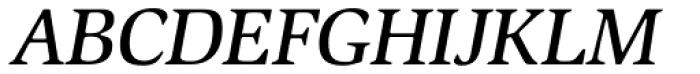 ITC Slimbach Std Medium Italic Font UPPERCASE