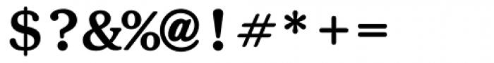 ITC Souvenir Monospaced Bold Font OTHER CHARS