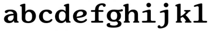 ITC Souvenir Monospaced Bold Font LOWERCASE