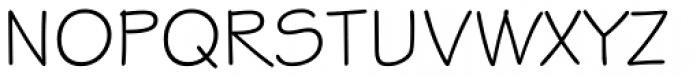 ITC Stylus Font UPPERCASE