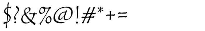 ITC Tempus Sans Smallcaps Font OTHER CHARS