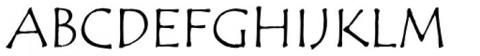 ITC Tempus Sans Smallcaps Font UPPERCASE