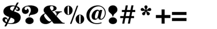 ITC Tiffany Heavy Font OTHER CHARS