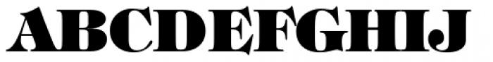 ITC Tiffany Heavy Font UPPERCASE