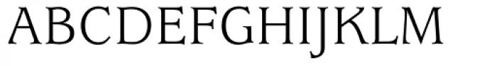 ITC Usherwood Book Font UPPERCASE