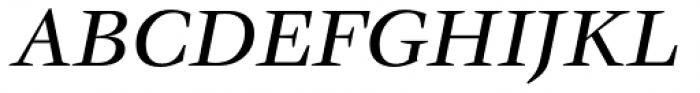 ITC Veljovic Medium Italic Font UPPERCASE