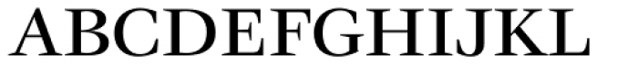 ITC Veljovic Medium OS Font UPPERCASE