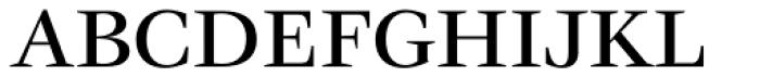 ITC Veljovic Std Medium Font UPPERCASE