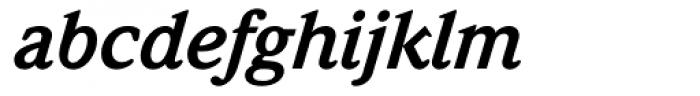 ITC Weidemann Bold Italic Font LOWERCASE