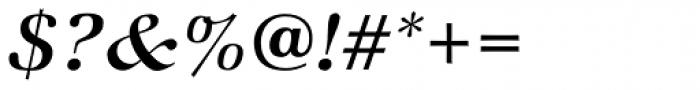 ITC Zapf Book Std Medium Italic Font OTHER CHARS