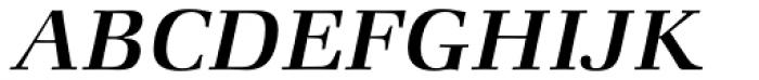ITC Zapf Book Std Medium Italic Font UPPERCASE