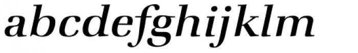 ITC Zapf Book Std Medium Italic Font LOWERCASE