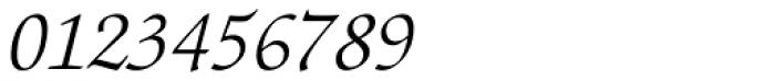 ITC Zapf Chancery Light Italic Font OTHER CHARS
