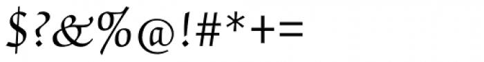 ITC Zapf Chancery Pro Roman Font OTHER CHARS