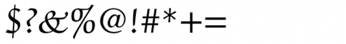 ITC Zapf Chancery Roman Font OTHER CHARS