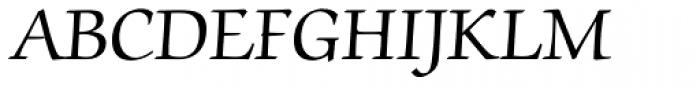 ITC Zapf Chancery Roman Font UPPERCASE