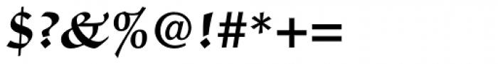 ITC Zapf Chancery Std Bold Font OTHER CHARS