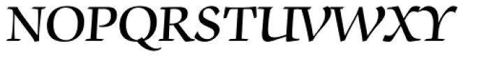 ITC Zapf Chancery Std Demi Font UPPERCASE