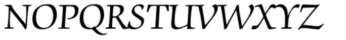 ITC Zapf Chancery Std Roman Font UPPERCASE