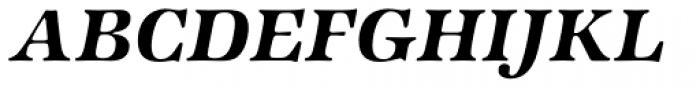 ITC Zapf International Std Demi Italic Font UPPERCASE